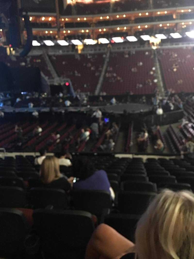 Seating view for Gila River Arena Section 102 Row M Seat 7