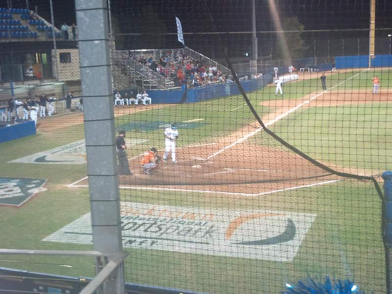 Seating view for Blacktown Baseball Stadium Section C Row C Seat 13