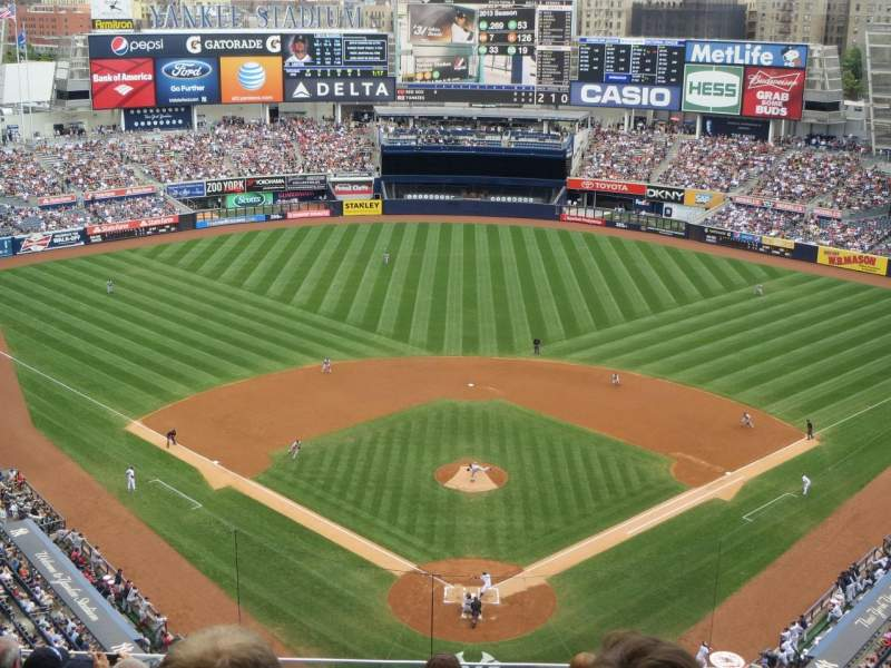 Seating view for Yankee Stadium Section 420B Row 8 Seat 15