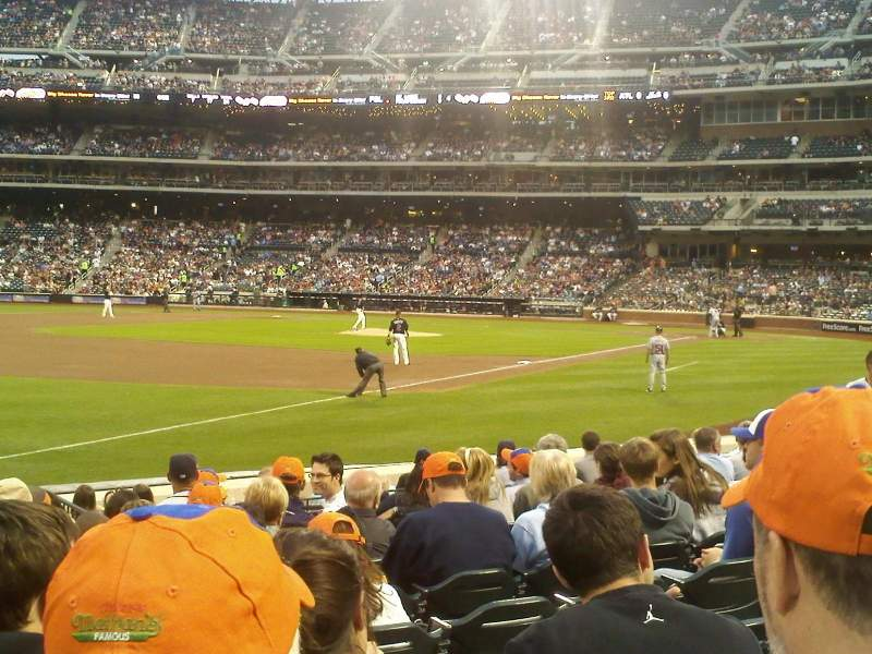 Seating view for Citi Field Section 124 Row 16 Seat 7