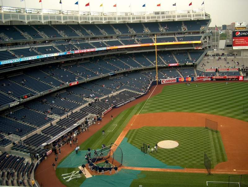 Seating view for Yankee Stadium Section 317 Row 1