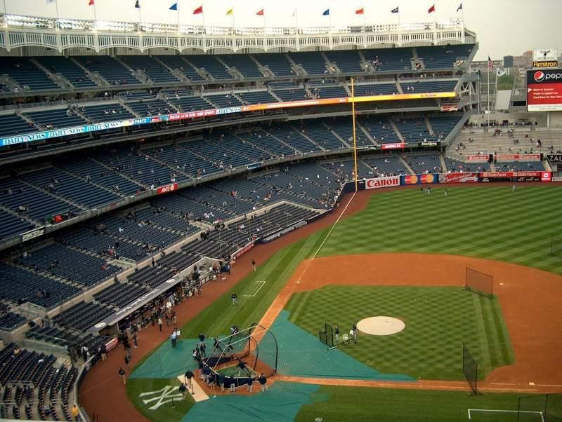 Yankee Stadium, section: 317, row: 1
