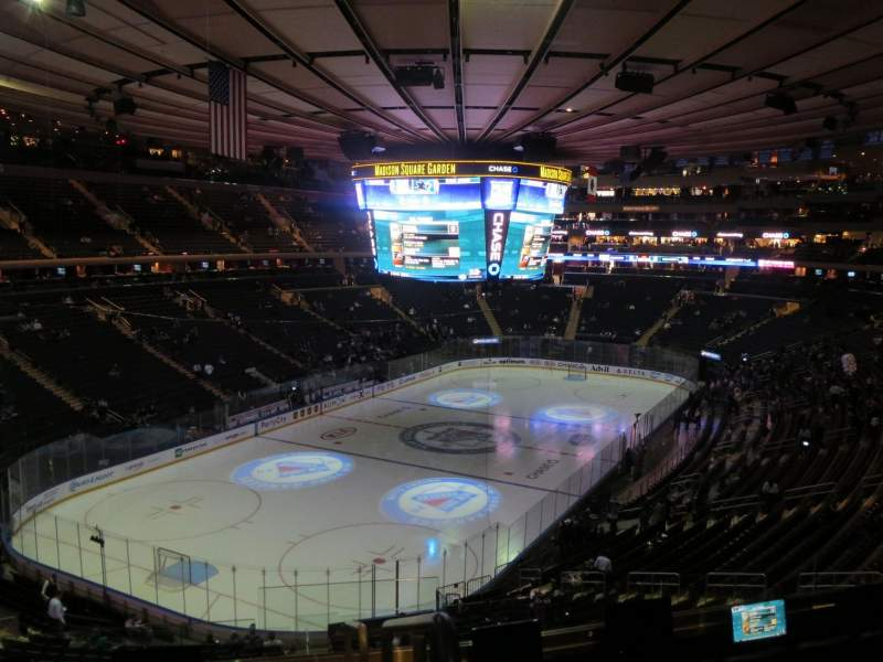 Seating view for Madison Square Garden Section 219 Row 5