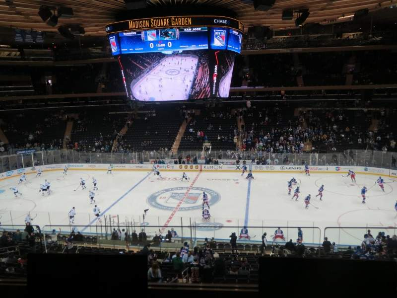 Seating view for Madison Square Garden Section 225 Row 2 Seat 5