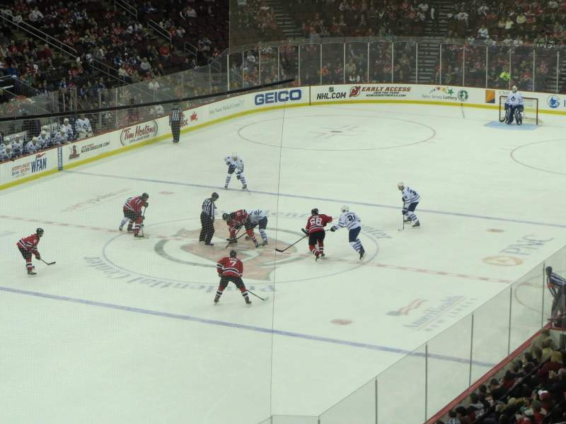 Prudential Center, section: RST 2, row: 2, seat: 606