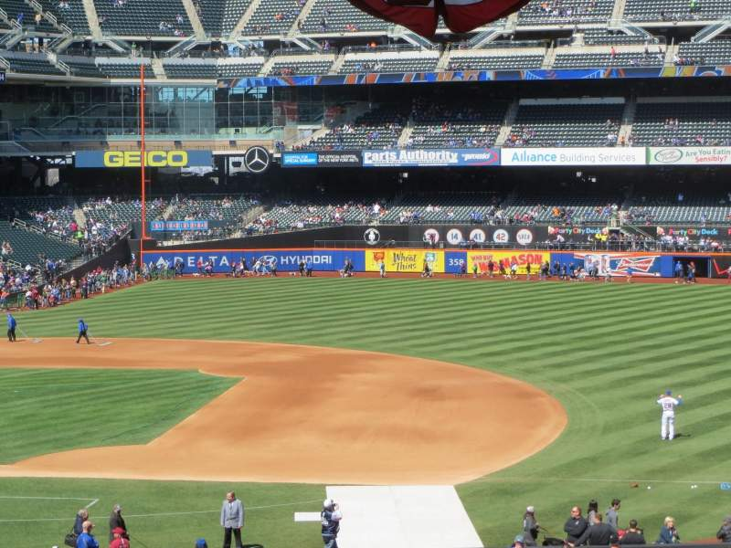 Seating view for Citi Field Section 112 Row WC Seat Wheelchair