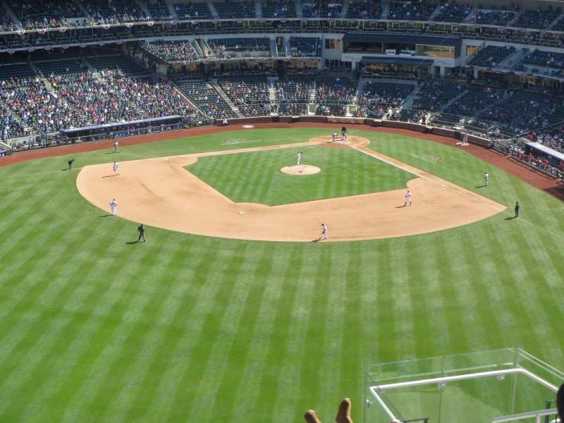 Seating view for Citi Field Section 538 Row 10 Seat 8