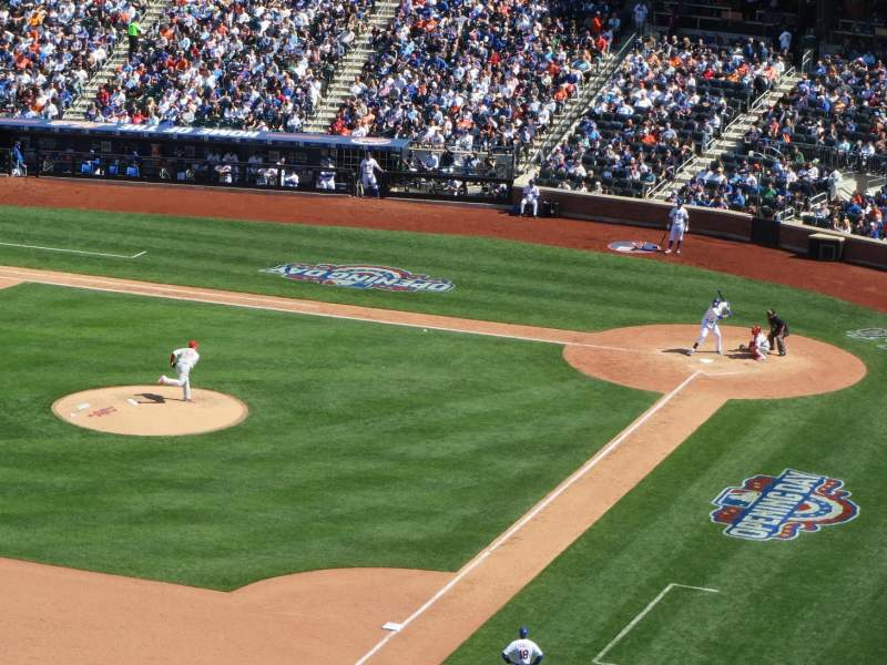 Seating view for Citi Field Section 427 Row 4 Seat 23