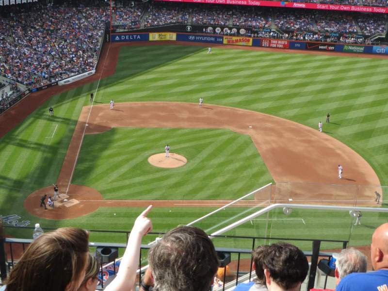 Seating view for Citi Field Section 509 Row 5 Seat 22