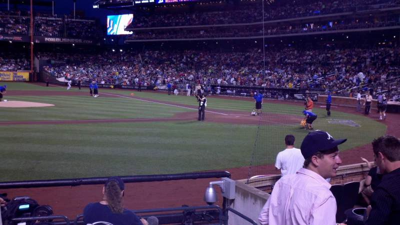 Seating view for Citi Field Section 121 Row 4 Seat 6