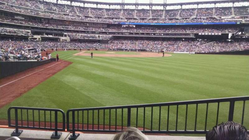 Seating view for Citi Field Section 103 Row 4 Seat 20