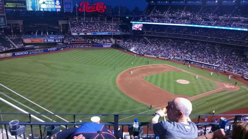 Seating view for Citi Field Section 525 Row 3 Seat 19