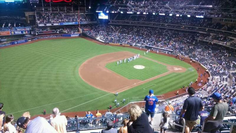 Seating view for Citi Field Section 525 Row 8 Seat 9