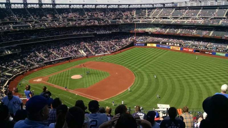 Seating view for Citi Field Section 503 Row 8 Seat 8