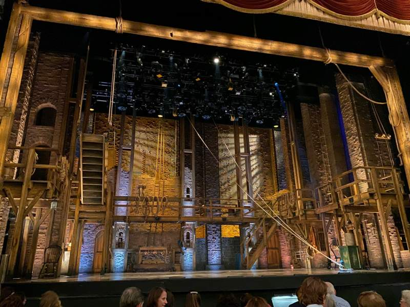 Seating view for Forrest Theatre Section Orchestra C Row G Seat 114