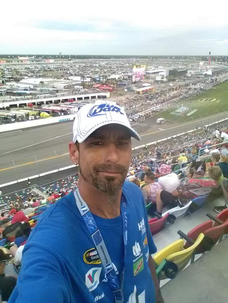 Seating view for Daytona International Speedway Section 410 Row 36 Seat 3