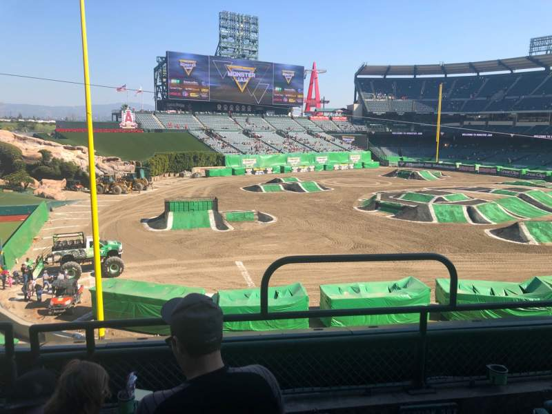 Seating view for Angel Stadium Section C306 Row C Seat 16
