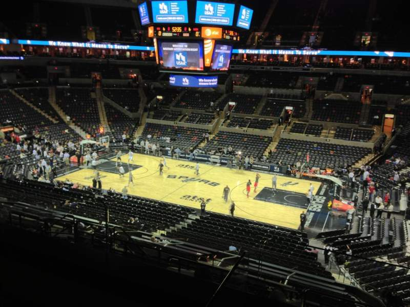 Seating view for AT&T Center Section Suite 19 Row 2 Seat 6