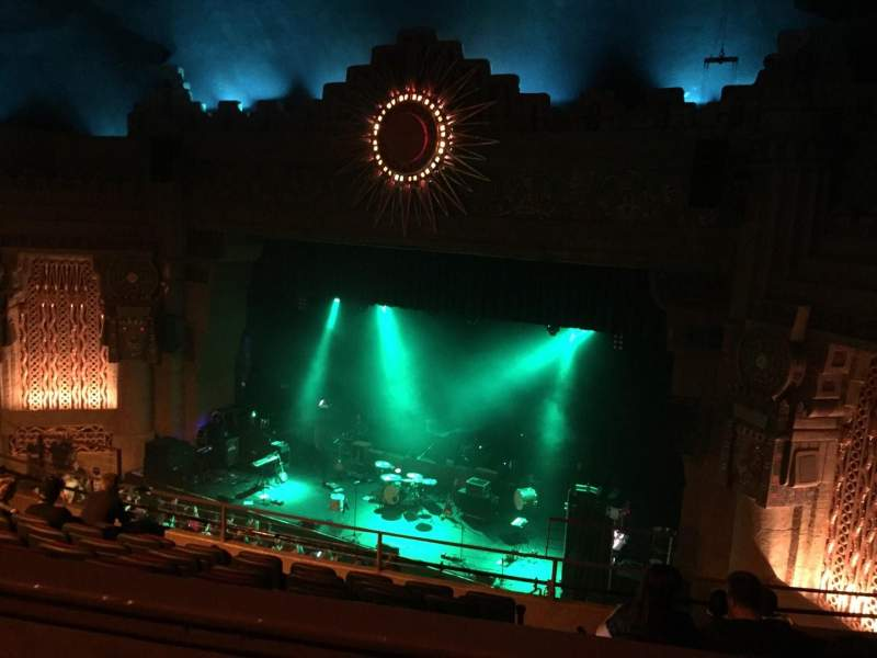 Seating view for Aztec Theatre Section Balcony Row H Seat 2