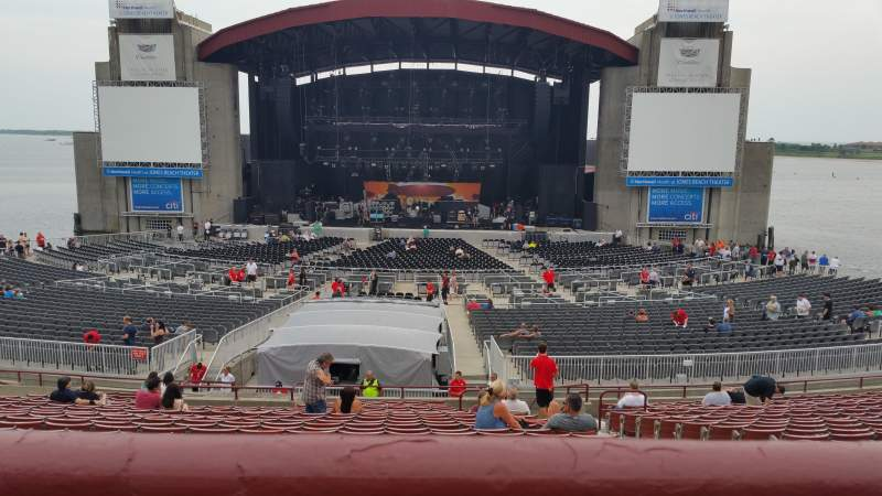 Seating view for Jones Beach Theater Section 8R Row AA Seat 3