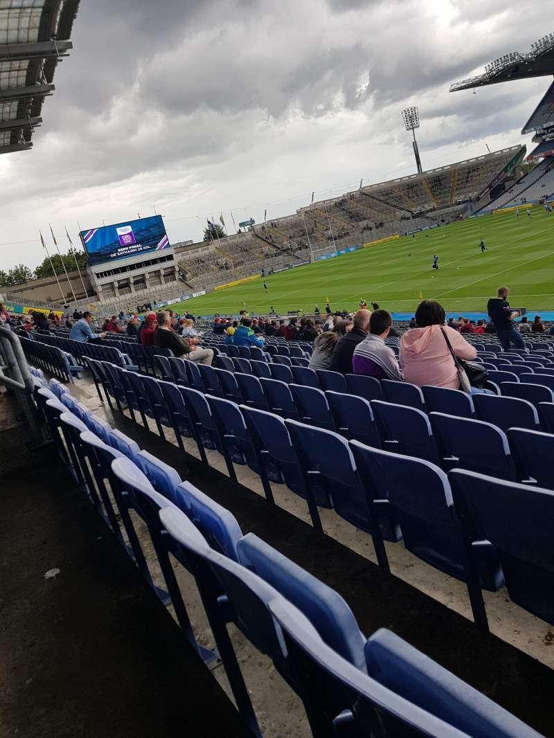 Seating view for Croke Park Section 326 Row JJ Seat 17