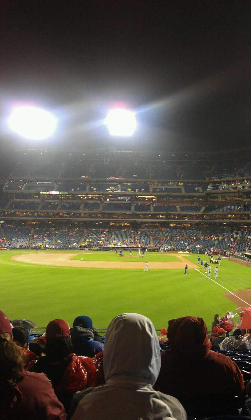 Seating view for Citizens Bank Park Section 142 Row 23 Seat 7