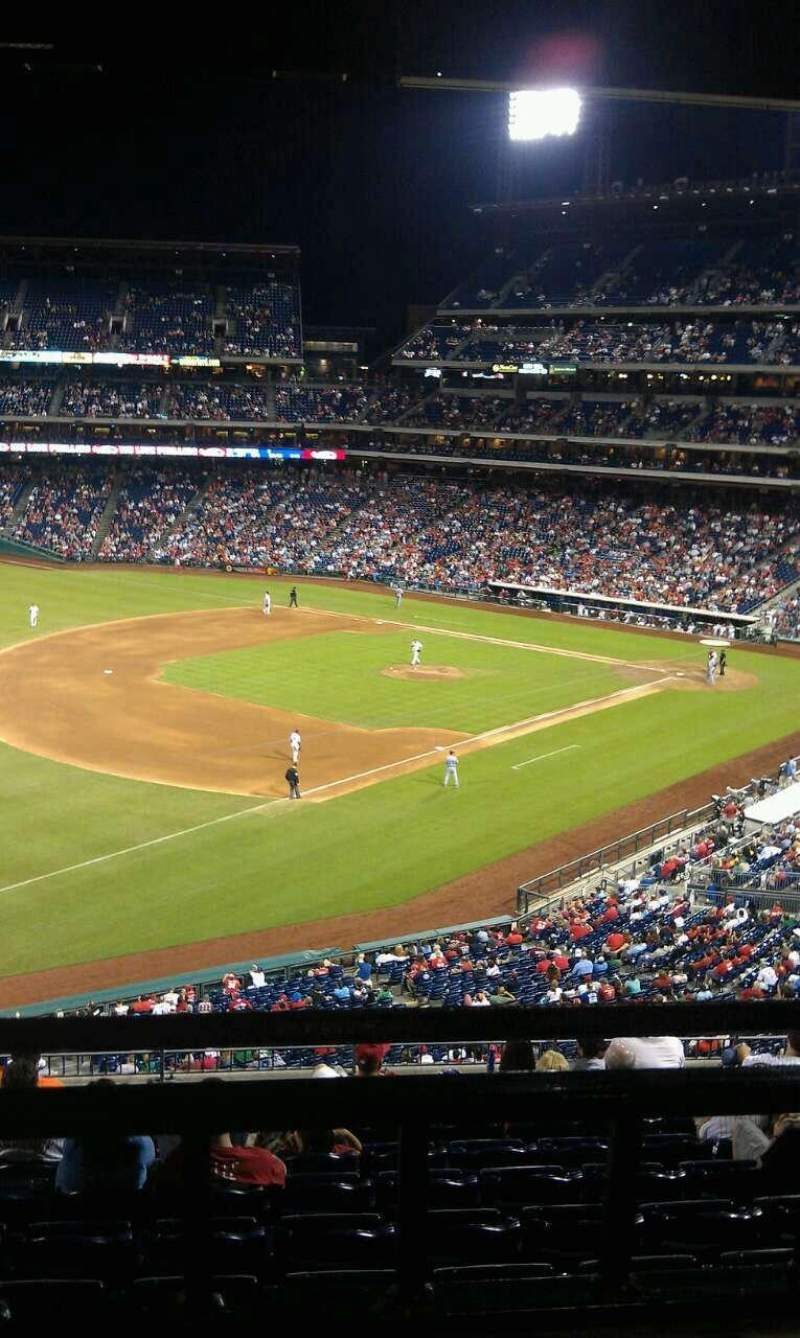 Seating view for Citizens Bank Park Section Suite 8