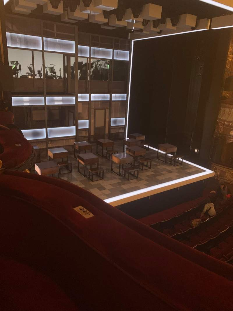 Seating view for Apollo Theatre Section Dress Circle Row B Seat 30