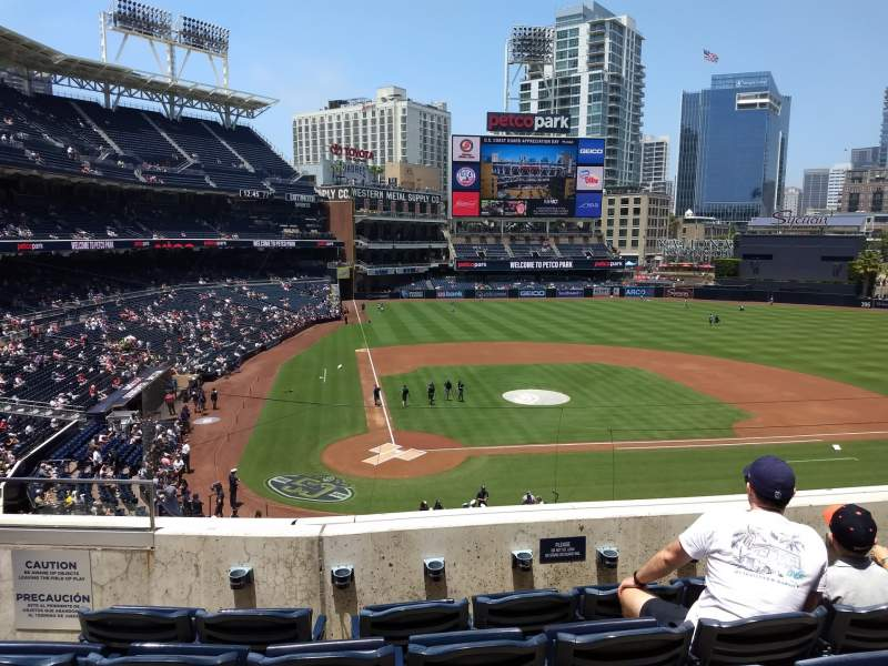 Seating view for PETCO Park Section 205 Row 5 Seat 4