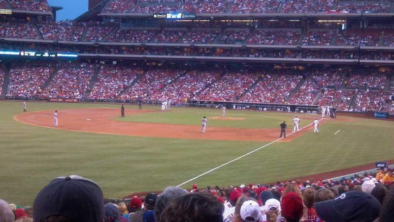 Seating view for Citizens Bank Park Section 139 Row 33 Seat 14