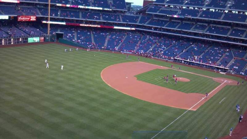 Seating view for Citizens Bank Park Section 333 Row 6 Seat 3