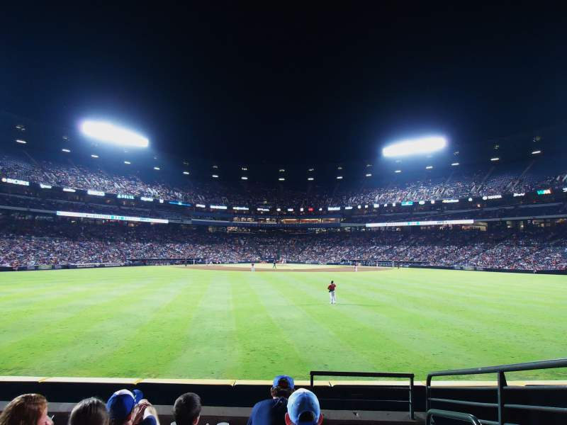 Seating view for Turner Field Section 151 Row 17 Seat 103