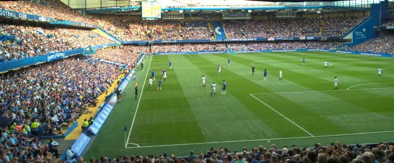 Seating view for Stamford Bridge Section Matthew Harding Lower Block 15 Row CC Seat 148
