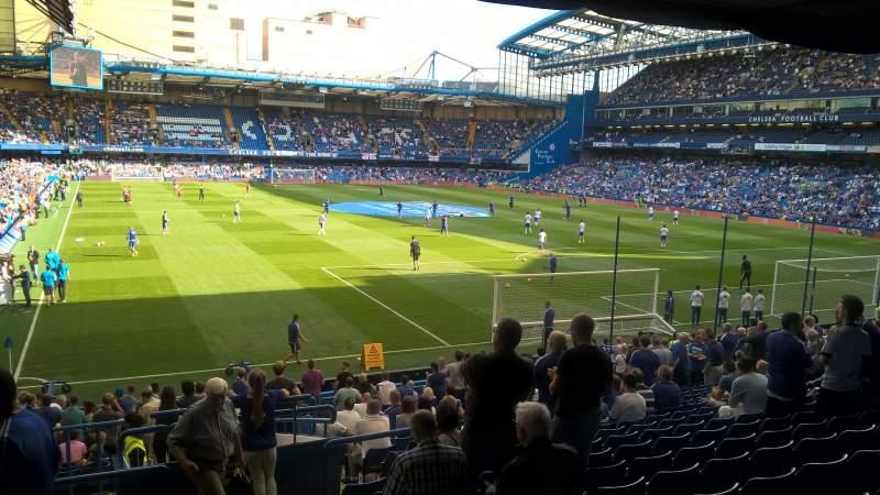 Seating view for Stamford Bridge Section Matthew Harding Lower block 15 Row CC Seat 148