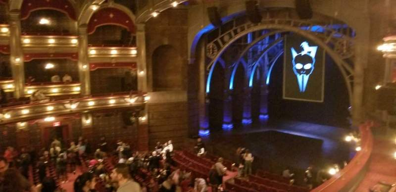 Seating view for Lyric Theatre Section Dress Circle R Box C Row A Seat 2,3,4
