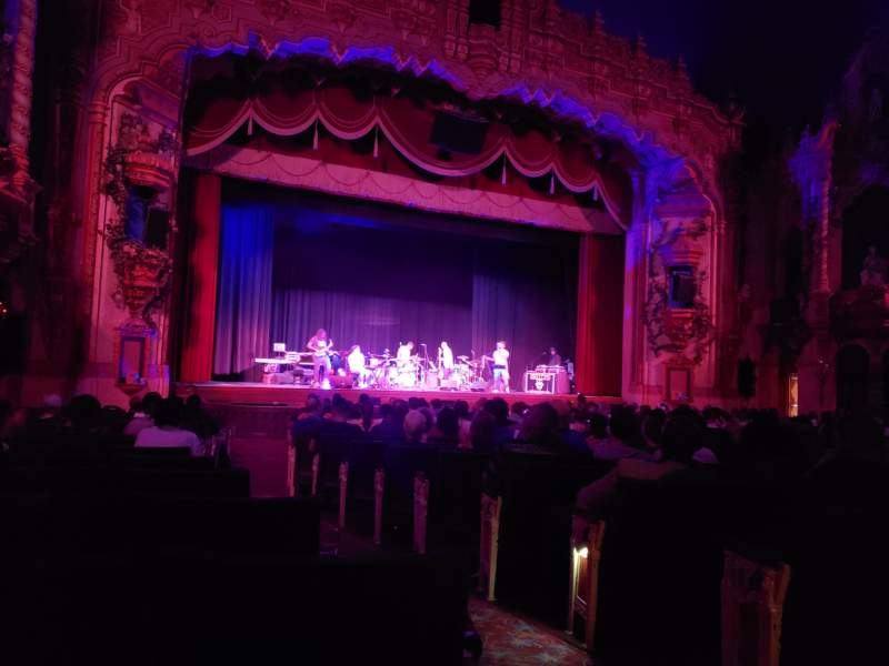 Seating view for Akron Civic Theater Section Orchestra L Row U Seat 2