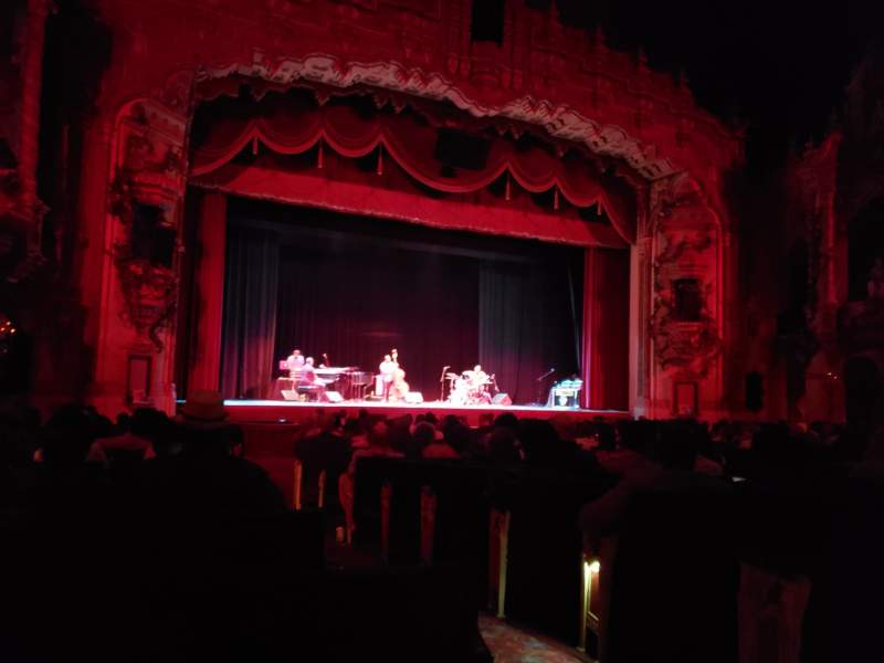 Seating view for Akron Civic Theater Section Orchestra L Row G Seat 2