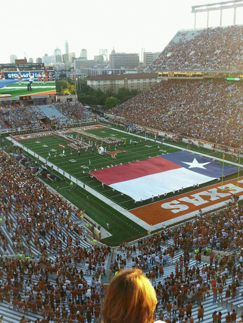 Seating view for Texas Memorial Stadium Section 120 Row 3 Seat 4