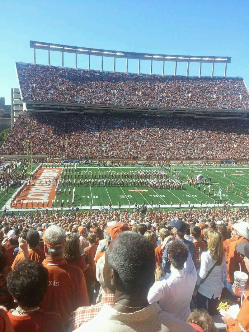 Seating view for Texas Memorial Stadium Section 31 Row 73 Seat 5