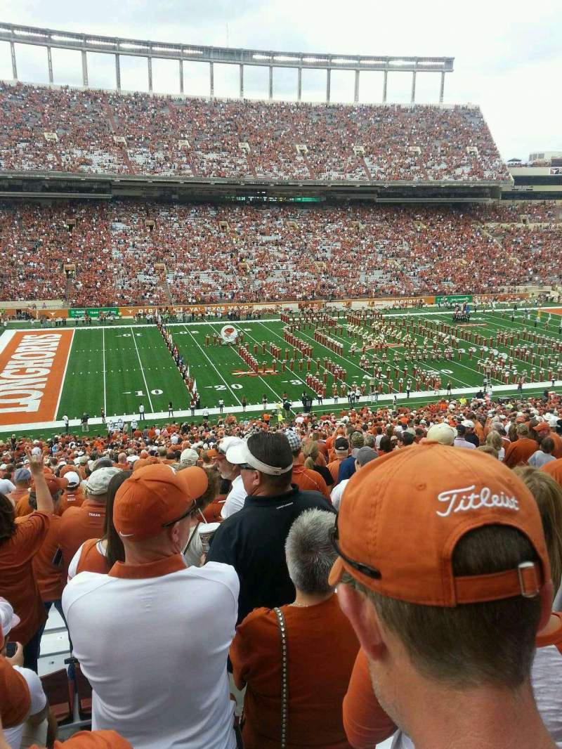 Seating view for Texas Memorial Stadium Section 31 Row 71 Seat 7