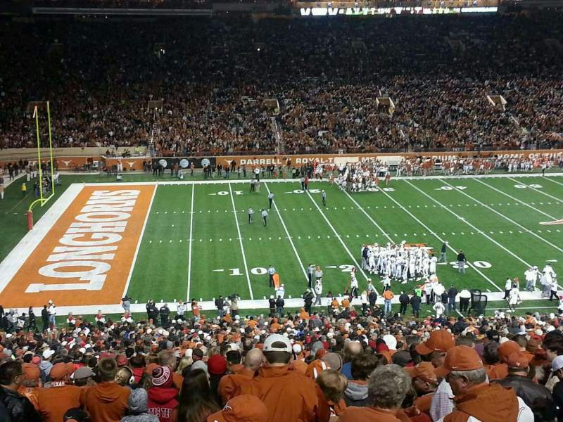 Seating view for Texas Memorial Stadium Section 31 Row 66 Seat 7