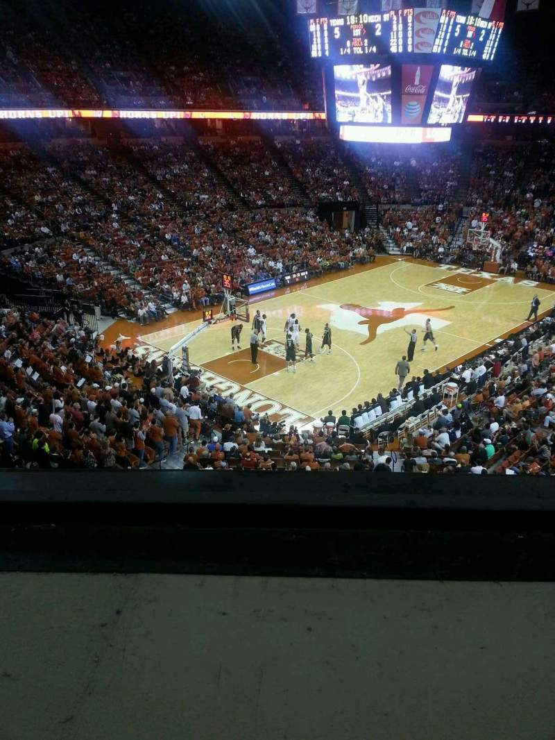 Seating view for Frank Erwin Center Section 91 Row 1 Seat 5