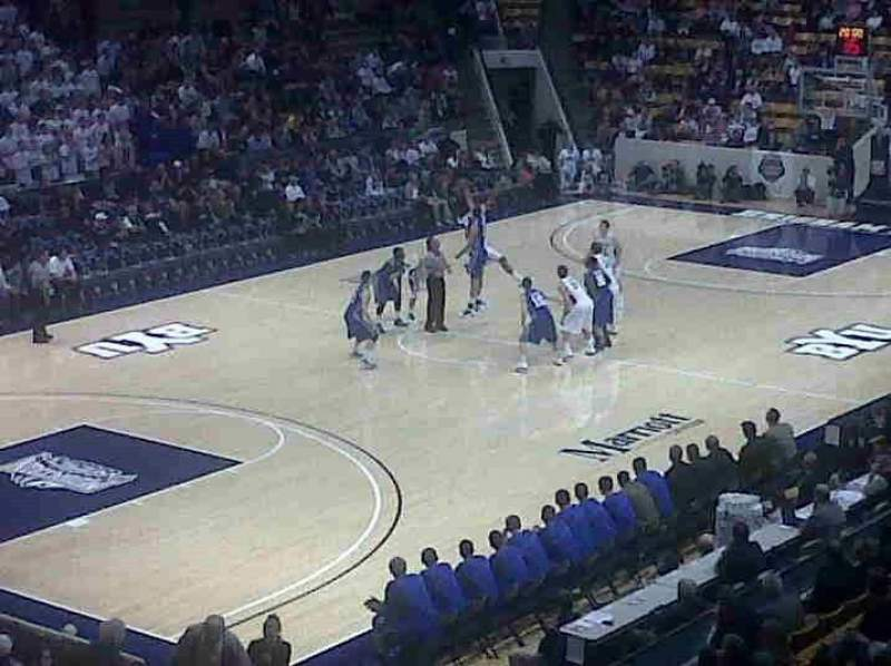 Seating view for Marriott Center
