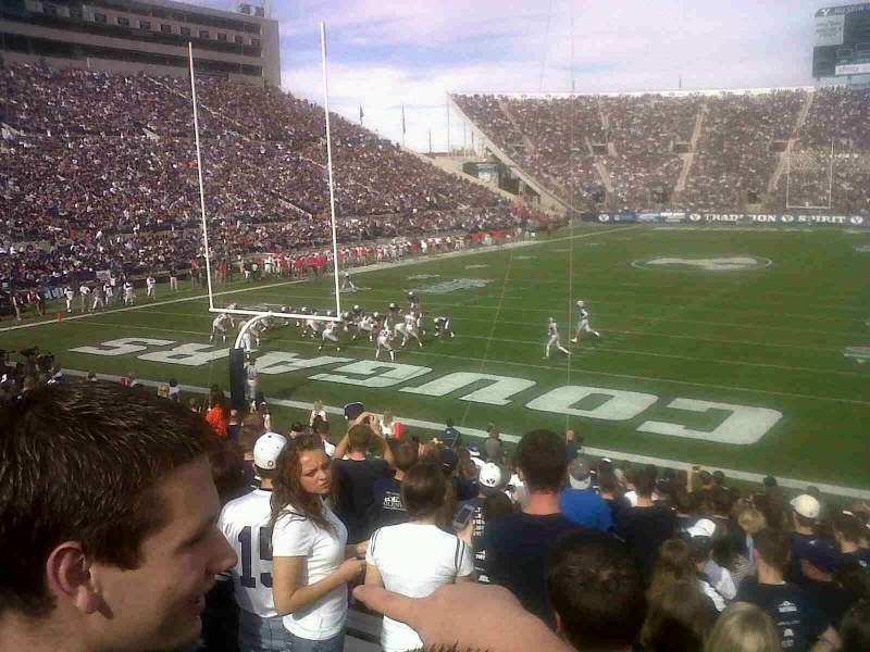 Seating view for Lavell Edwards Stadium