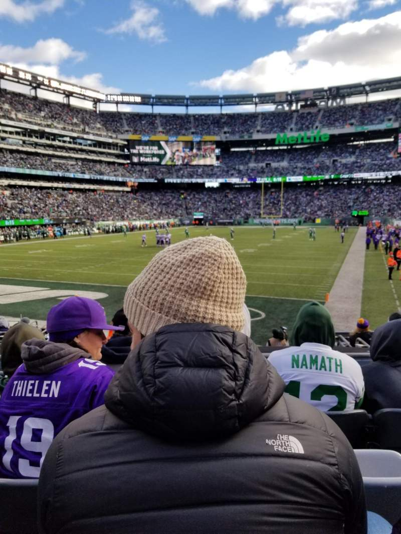 Seating view for MetLife Stadium Section 148 Row 13 Seat 13