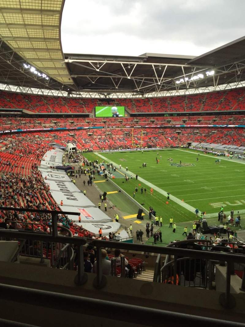 Seating view for Wembley Stadium Section 233 Row 10 Seat 157