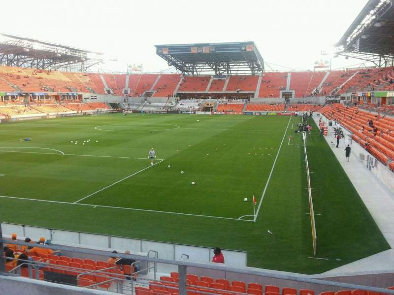 Seating view for BBVA Compass Stadium