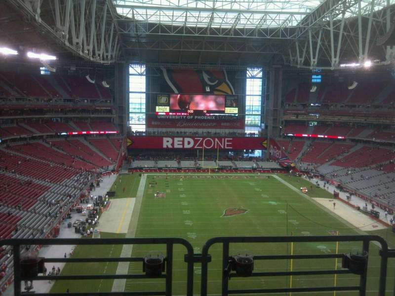 Seating view for University of Phoenix Stadium Section 430