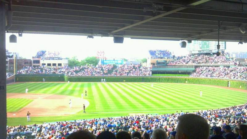 Seating view for Wrigley Field Section 231 Row 17 Seat 2