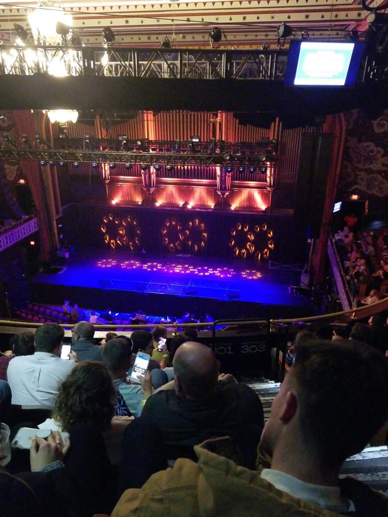 The Tabernacle Section 301 Row G Seat 1